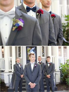gray tuxedos for groomsmen suits