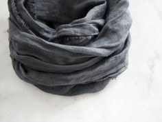 Hey, I found this really awesome Etsy listing at https://www.etsy.com/au/listing/470035168/storm-cloud-gray-linen-scarf-hand-dyed