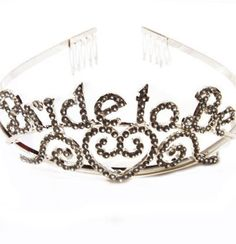 Purchase your bride to be a rhinestone tiara for her bridal shower or bachelorette party! Find all your bride to be accessories at The House of Bachelorette. Bachelorette Party Supplies, Bachelorette Party Favors, Bachelorette Weekend, Bridal Shower Party, Bridal Showers, Perfect Bride, Wedding Anniversary Gifts, Wedding Gifts, Elegant Bride