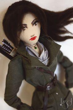 Rise Of Tomb Raider Lara Croft Rag Doll Collectible by LocoGlam