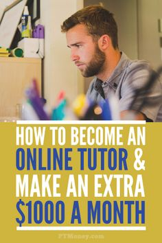 Read PT's interview with Aaron. Aaron is an online Chemistry tutor who has earned up to $1000 a month with this side gig. Online tutoring is easier than ever with website like tutor.com!