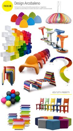 #archiproducts focus on #rainbow #design #arcobaleno #colours