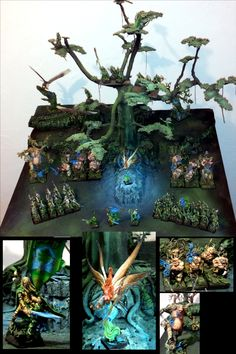 Wood elves tounament Army