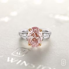 "12.7k Likes, 673 Comments - Harry Winston (@harrywinston) on Instagram: ""The color of harmony, affection and unconditional #love. Brilliant and rare, the pink #diamond is a…"""