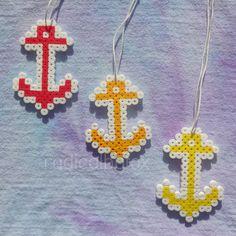 Anchor collana Kandi - Perler Bead Jewelry