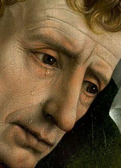 """Sisifo-rivolta: """"Particolare dal Discesa dalla Croce -Deposition- 1435 Rogier van der Weyden"""""""