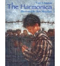 By:Tony Johnston / Illustrated by: Ron Mazellan A testament to the human spirit and the transcendent power of music. When the Nazis invaded Poland, a Jewish family is split apart. The parents are sent Good Books, Books To Read, Children's Books, Number The Stars, Mentor Texts, Libros, Art, School