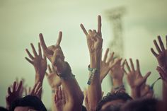 rock 'n roll hands...Lollapalooza 2011 / music photography