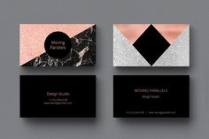 80%OFF Rose Gold Foil Business Cards - Business Cards - 3
