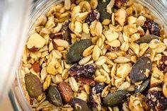 Domácí granola Granola, Quinoa, Acai Bowl, Spicy, Beans, Vegetables, Breakfast, Acai Berry Bowl, Morning Coffee