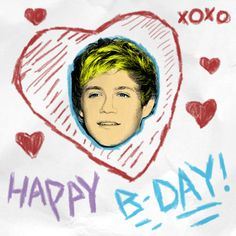 Happy Birthday Niall! Hope your day is filled with happiness and cake! Your turning 20 today and I'm turning 16!! Party all day and all night Nialler! You're not a teenager anymore! But I don't want it lose my baby Niall :( Love you lots and take care. @Niall Dunican Horan