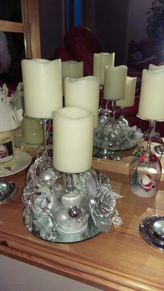 Candle Holders, Candles, Wine, Table Decorations, Glasses, Home Decor, Candlesticks, Eyewear, Homemade Home Decor