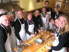 Sharon Oddson from Garga Cooking School - A great way to learn Florentine cuisine and famous dishes of Garga