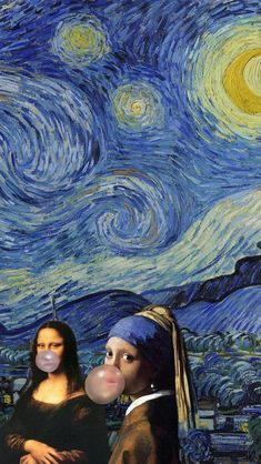 Mona Lisa Parody, Famous Art, Many Faces, Funny Laugh, Funny Art, Vincent Van Gogh, Lovers Art, Cute Art, Fantasy