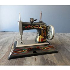 Black Casige Childs Sewing Machine Made in by JustSmashingDarling, $128.00
