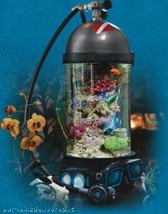 Scuba Tank Aquarium!