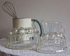 Your place to buy and sell all things handmade How To Make Jelly, 1950s, Conditioner, Stains, Display, Glass, Vintage, Design, Floor Space