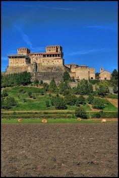 Torrechiara Castle, province if Parma, region  of Emilia-Romagna, Italy