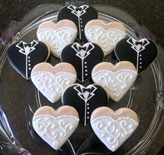 #DIY wedding cookies