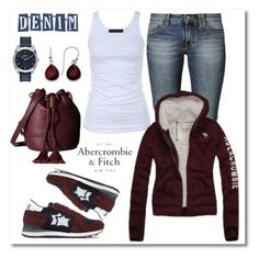 """Untitled #743"" by gallant81 ❤ liked on Polyvore featuring Tusnelda Bloch, Hollister Co., Atlantic Stars, See by Chloé, Nixon and Abercrombie & Fitch"