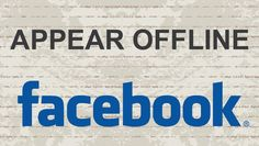How to appear offline on Facebook #facebook #video #youtube #socialmedia #fb #tech #tips #tutorial #social #facebooktips