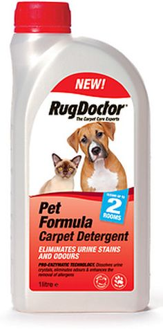 Rug Doctor Pet Formula Also Deters Pets From Re Marking Areas Leaving You With