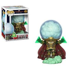 From Spiderman far from home, mysterio, as a stylized POP vinyl from Funko! Stylized collectable stands 3 ¾ inches tall, perfect for any Spiderman far from home fan! Collect and display all Spiderman far from home pop! Funko Pop Marvel, Funko Pop Spiderman, Pop Vinyl Figures, Funko Pop Figures, Disney Pixar, Disney Pop, Funk Pop, Pop Toys, Pop Characters