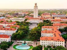 University of Texas at Austin aerial