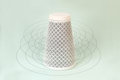 Pico bluetooth speaker 360° sound display by Catherine Stolarski Design