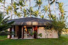 Tropical Shangri-La, Arraial D'Ajuda, Brazil | boutique-homes.com