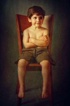 Young boy portrait by Zachar Rise