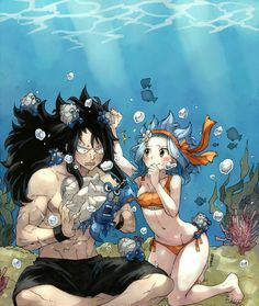 GaLe or Gajevy no matter what you call em they are the best shipped Fairy Tail couple hands down