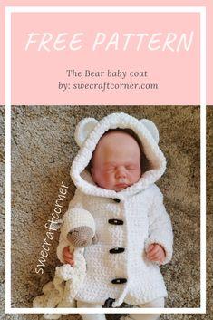 Crochet Baby Jacket, Crochet Baby Sweaters, Crochet Baby Hats, Crochet Baby Cardigan Free Pattern, Crochet Baby Stuff, Crochet Baby Clothes Boy, Baby Girl Crochet Blanket, Crochet Bebe, Crochet For Boys