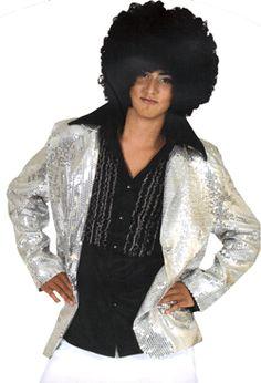 Glittercolbert zilver
