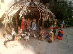 presépios de natal artesanal argila - Pesquisa Google