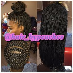Crochet Hair In Houston Tx : Hair by Peaches - Houston, TX, United States. Crochet Senegalese twist ...