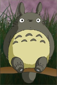 Totoro HD by Anth07am