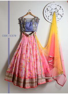 Half Saree Lehenga, Indian Lehenga, Anarkali Dress, Western Lehenga, Saree Gown, Indian Bridal Fashion, Indian Wedding Outfits, Indian Outfits, Wedding Dresses