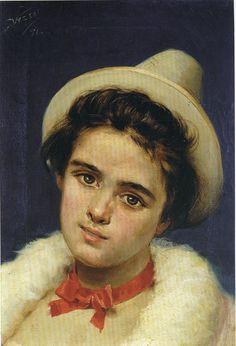Manuel Wessel de Guimbarda - Señora con sombrero