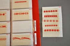 Wnat an easy way to see what all those decorative stitches built in to your sewing machine really look like when stitched? Make a simple Stitch sample book with this tutorial.