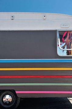 Colorful caravan -