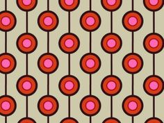 Another free pattern today and a very one designed to look good on any period wall 60s Wallpaper, Graphic Wallpaper, Print Wallpaper, Pattern Wallpaper, 60s Patterns, Vintage Patterns, Textures Patterns, Print Patterns, Durga