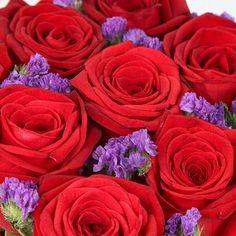 Rouge Romance - rose bouquets under £30