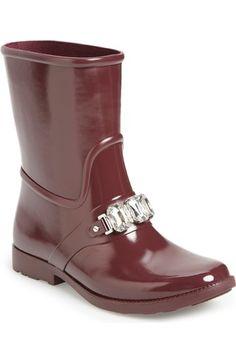 MICHAEL Michael Kors 'Leslie' Rain Boot (Women) available at #Nordstrom