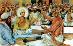 Guru Nanak Dev Ji - the threading ceremony