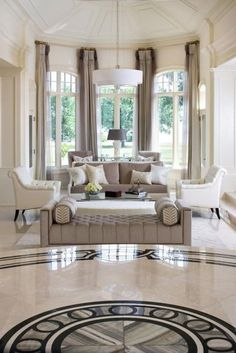 Today we have compiled 10 of the best portfolios of interior design. here we have a collection of 10 luxury living room inspiration. A rich living room makes you Living Room Interior, Home Living Room, Home Interior Design, Living Room Designs, Living Room Decor, Dining Room, Interior Livingroom, Classic Interior, Kitchen Interior