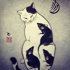 monmon cats | Tattoos & cats, a match made in my personal heaven!