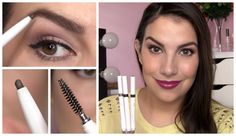 ELF Instant Lift Brow Pencil...in have the one in neutral brown & really like. If you set it with a gel, it will last all day & through a gym class.