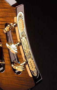 Sharpach guitar headstock
