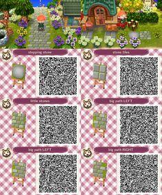 Grey Stone Path Animal Crossing